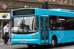 A blue bus for Bluebird of Middleton