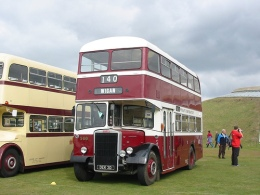Wigan Corporation bus